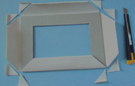 Как сделать фото-рамку своими руками из картона