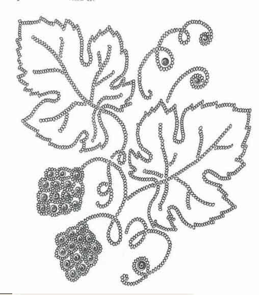 схемка вышивки бисером Дракон + сама вышивка. плетение из бисера схемы.
